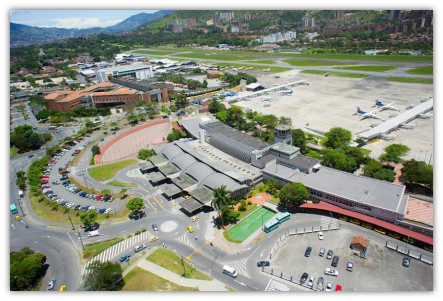 Fotografía tomada de Archivo digital Aeropuerto Olaya Herrera