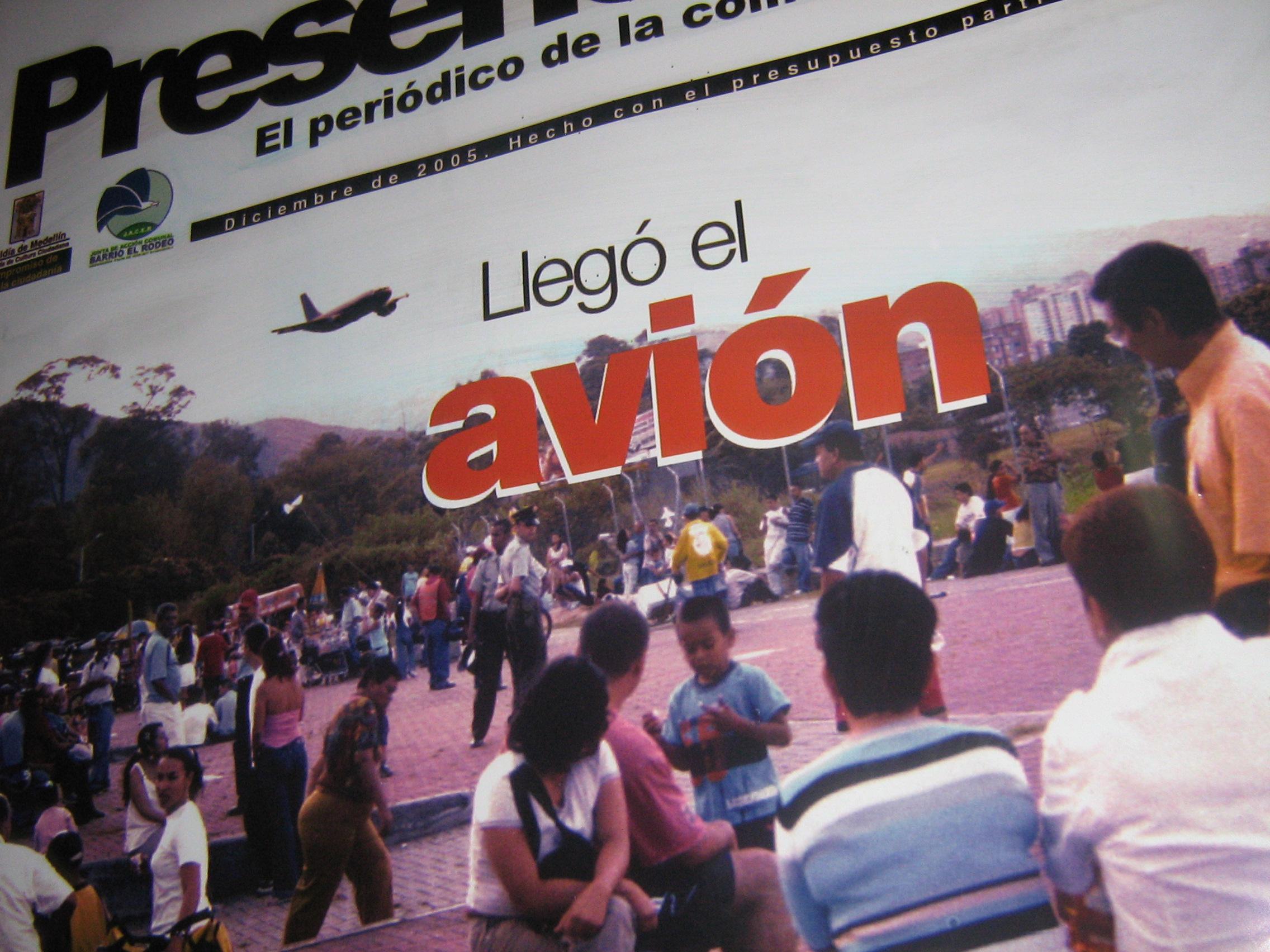 Presencia 15, comunicación participativa en Guayabal