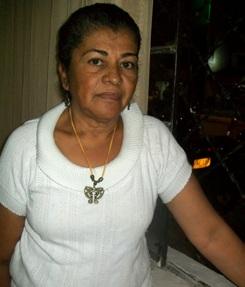 Carmen Quintero, líder durante muchos años del barrio Cristo Rey.