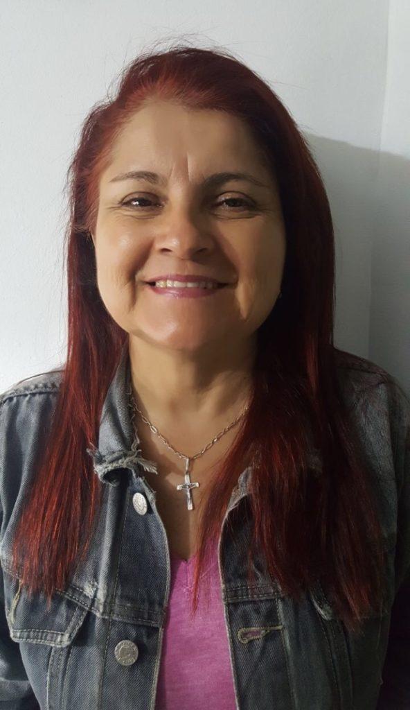 Doris Rueda, presenció la historia no solo del templo, sino de la parroquia.